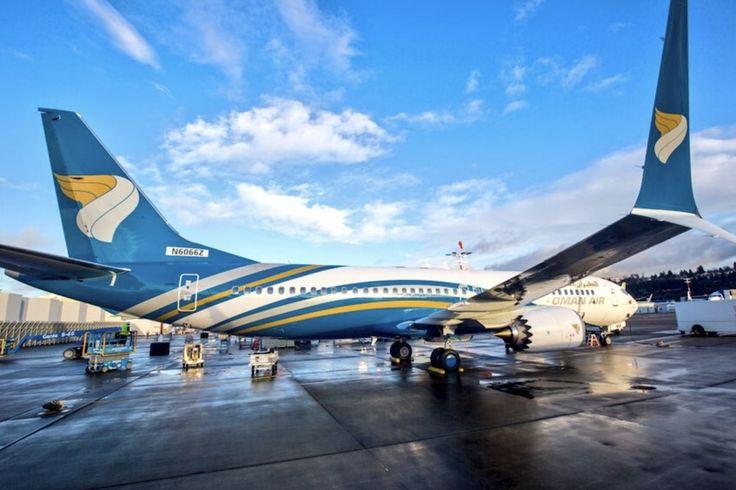 Oman Air : premier Boeing 737 MAX 8