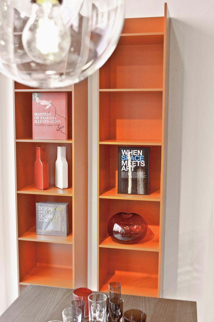 Libreria - library - orange design