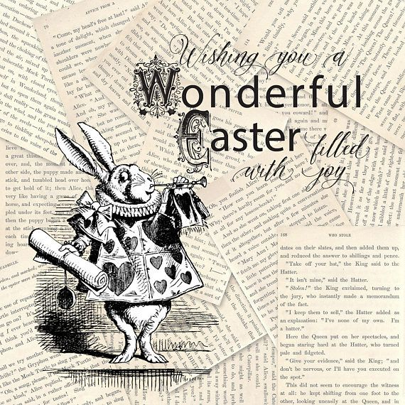 Alice In Wonderland Photoshop Brushes 46 Clip art Digital