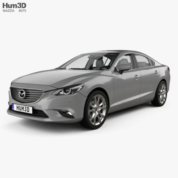 Mazda 6 Gj Sedan With Hq Interior 2015 Mazda 6 Mazda Sedan