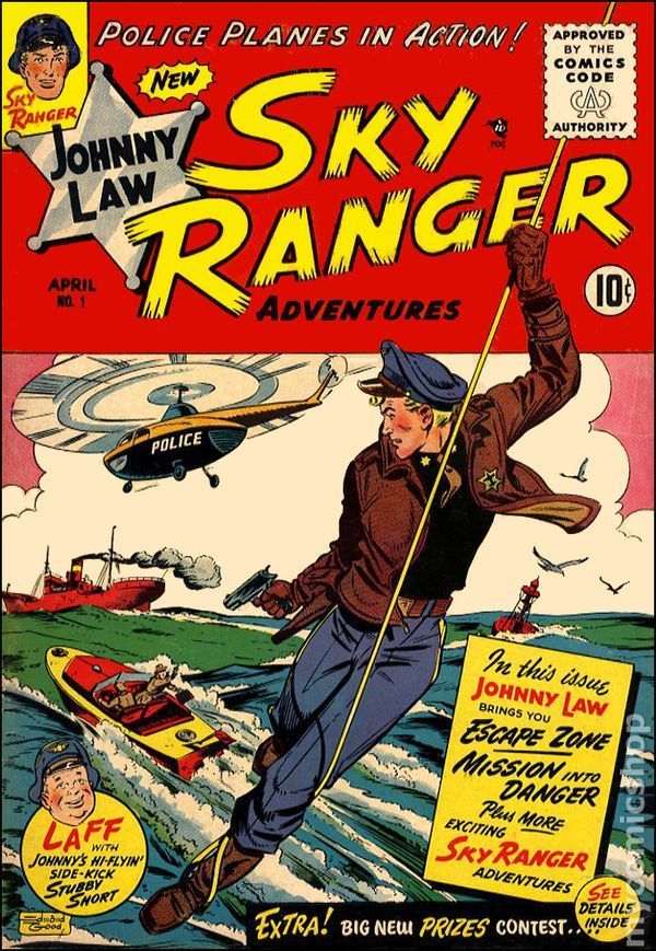 Johnny Law, Sky Ranger #1