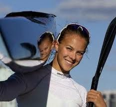 New Zealand's Lisa Carrington World Champ K1 200m and Olympic Champion London 2012