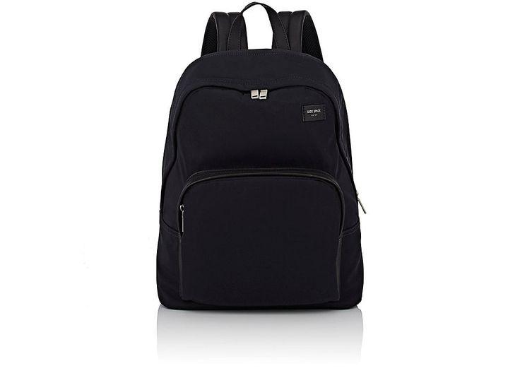 JACK SPADE JACK SPADE MEN'S ZIP-AROUND BACKPACK. #jackspade #bags #leather #backpacks #