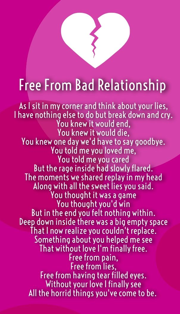 how to end an unhealthy relationship