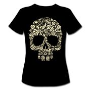 Flower Skull T-shirt