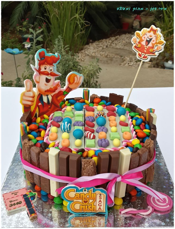 Candy Crush Cake Ideas / Candy Crush Themed Cakes