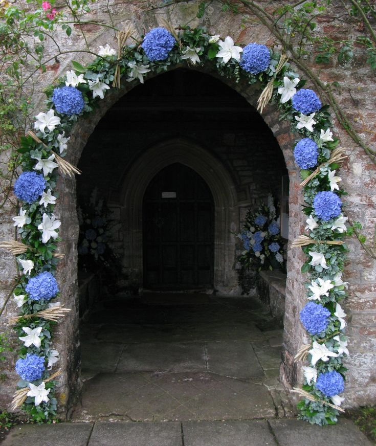 Wedding Flowers Church Decorations: 22 Best A Welcoming Entrance