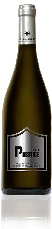 Prestige white sparkling wine