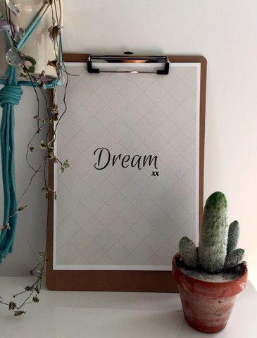 Dream A4 Print