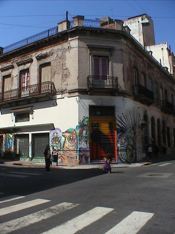 Street corner 2 - Buenos Aires Argentina