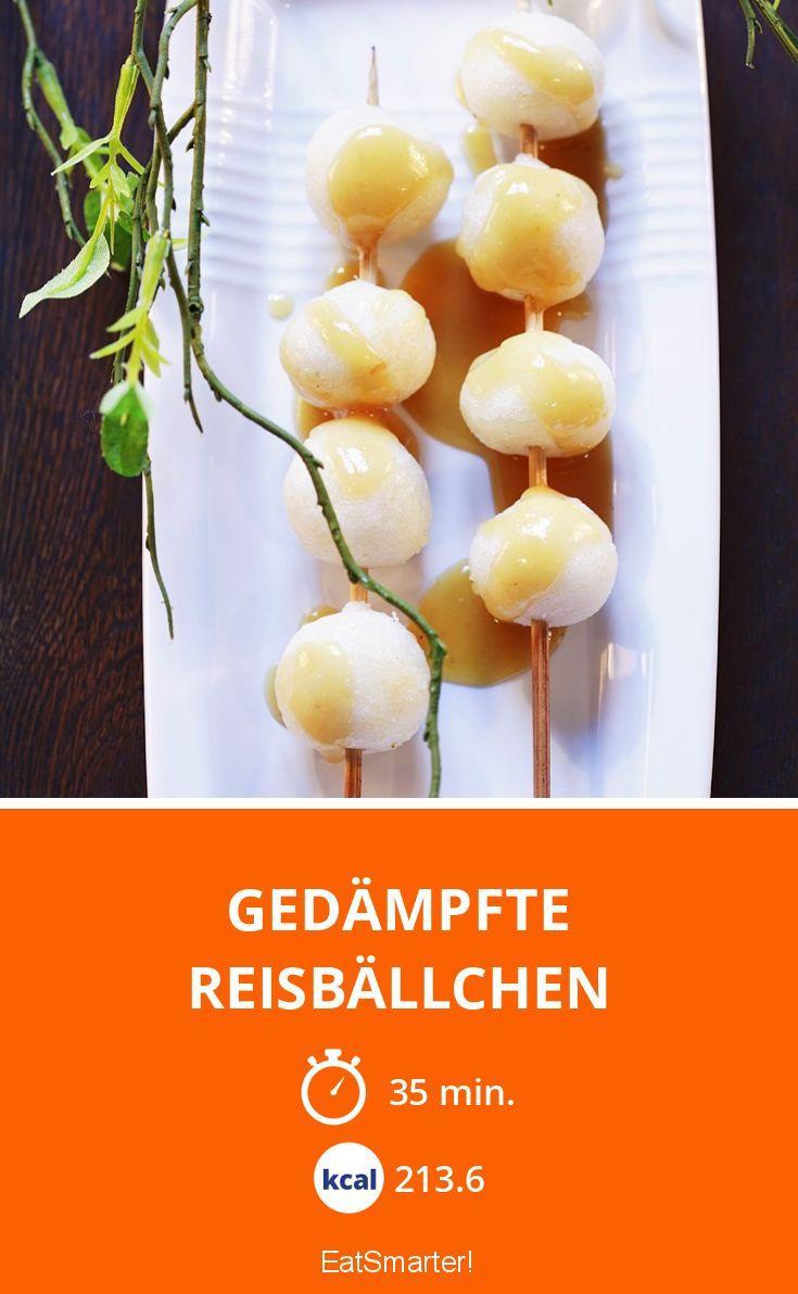 Gedämpfte Reisbällchen - smarter - Kalorien: 213.6 Kcal - Zeit: 35 Min. | eatsmarter.de