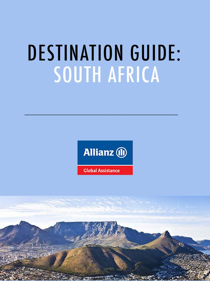 Destination Guide: South Africa