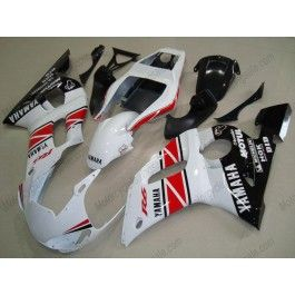Yamaha YZF-R6 1998-2002 Injection ABS Fairing - Others - White/Red/Black | $639.00