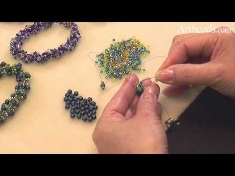 Spiral Rope Seed Bead Technique Mini Tutorial Video with Cynthia Kimura