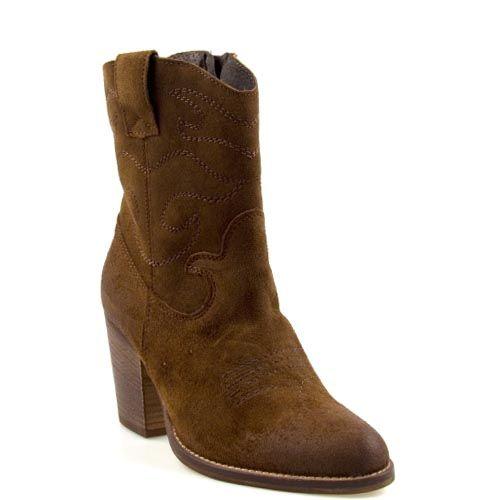 Poelman 13727 korte laarzen bruin
