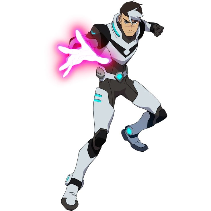 Zero 0 Paladins: Shiro From Voltron Legendary Defender