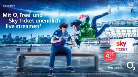 O2 Free Aktion: O2 mit Rabatte auf O2 Free Tarife und gratis Sky Tickets -Telefontarifrechner.de News