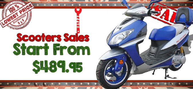 Scooters, Best Price Street Legal Gas Scooters, Mopeds, Motor Scooters Fast Shipping USA - Power Ride Outlet