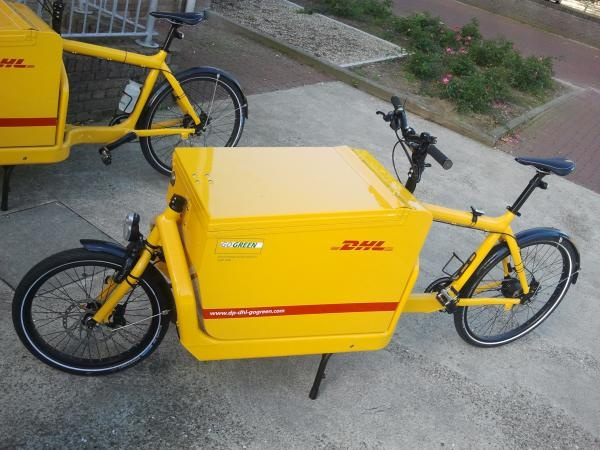 ♥ DHL in the Netherlands chooses the fastest cargobikes