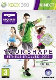 Kinect Your Shape Fitness Evolved 2012 Game Please note game requires Kinect Sensor Following on from the number one fitness game for Kinect Your Shape Fitness Evolved comes Your Shape - Fitness Evolved 2012 After listening to the community the http://www.comparestoreprices.co.uk/january-2017-6/kinect-your-shape-fitness-evolved-2012-game.asp
