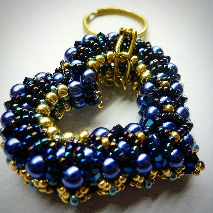 Creative Beads: 268 Best Images About Heart Beaded Bead On Pinterest