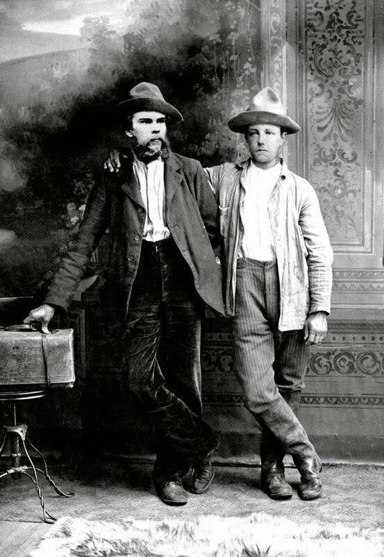 Poets Paul Verlaine and Arthur Rimbaud