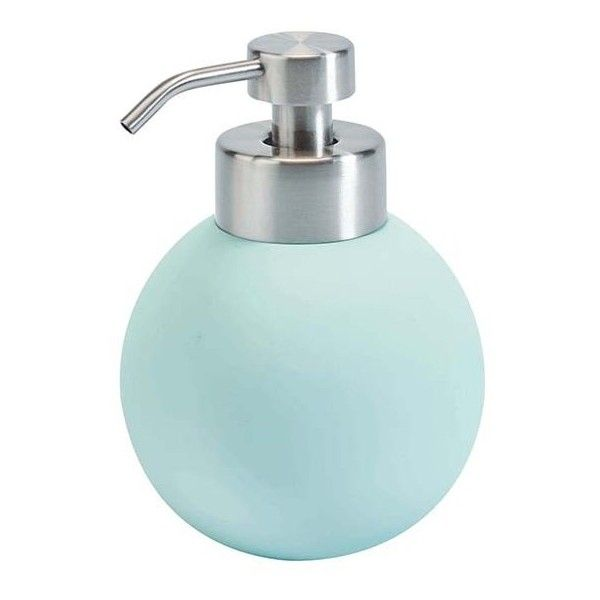 Aquanova Cleo Soap Dispenser   Mint ($24) ❤ Liked On Polyvore Featuring  Home,. Contemporary Bathroom AccessoriesContemporary ...
