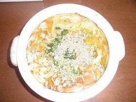 ピリ辛!坦々鍋 ヴィーガン中華スープの素、ひき肉なし