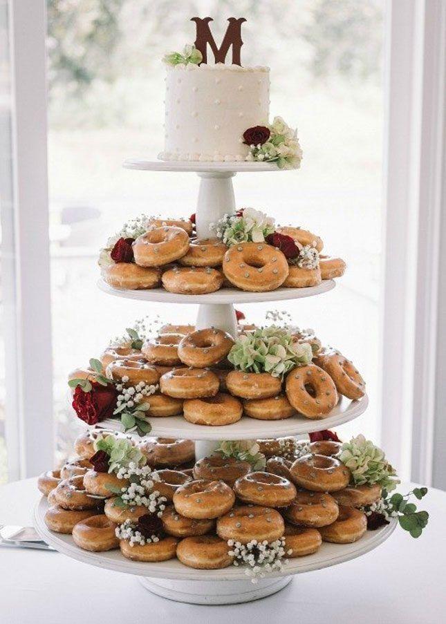 14 of the Prettiest Winter Wedding Desserts EVER via Brit + Co