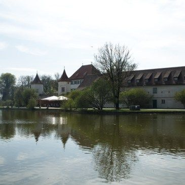 Bavaria's Blutenburg Castle West of Munich, Germany