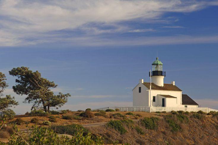 Old Point Loma Lighthouse - San Diego