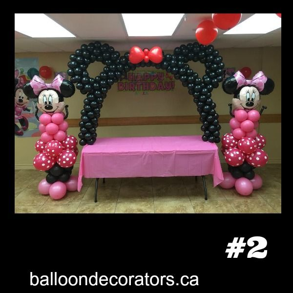 25 best minnie mouse balloons trending ideas on pinterest for Balloon decoration minnie mouse