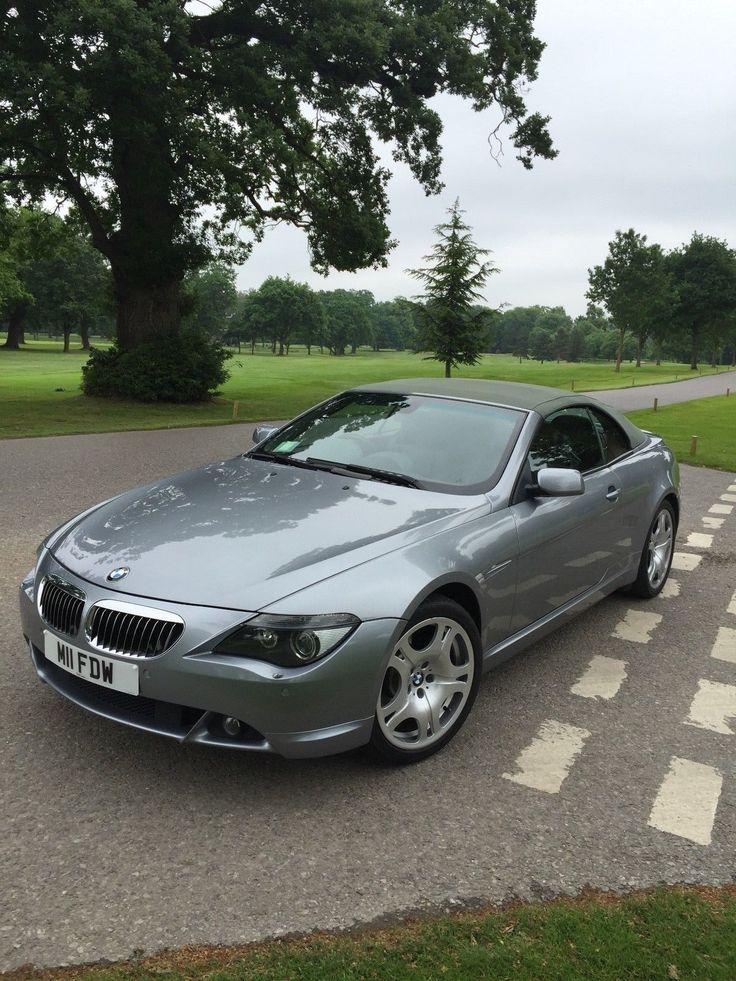 eBay: BMW 645 CI AUTO CONVERITBLE 2004 SPARES / REPAIR DUE TO ENGINE ISSUE #carparts #carrepair