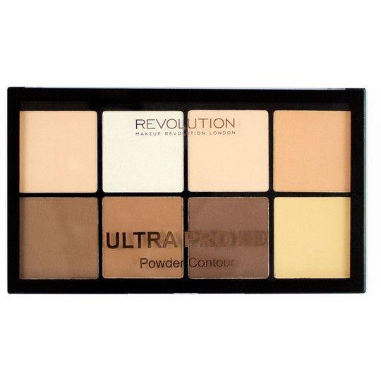 Makeup Revolution Ultra Pro HD Powder Pudrowy Zestaw do Konturowania Fair