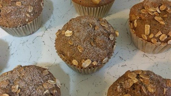 Chopped green apple and fresh cranberries flavor these easy muffins that are perfect for chilly mornings.