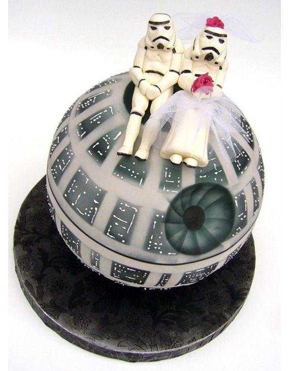 Pastel de bodas de Star Wars #Quiubo
