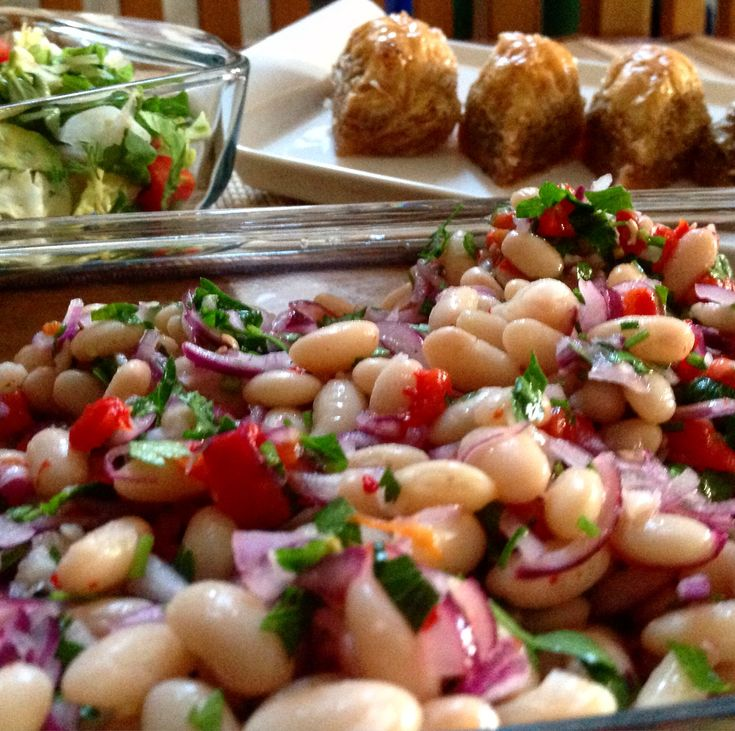 Turkish Bean Salad, or piyaz as it's known locally, is an easy to make side dish traditionally served with grilled meat or as a meze. Here's our recipe...