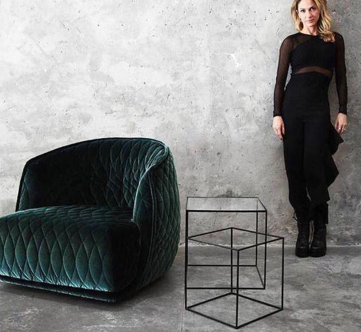 Patricia Urquiola Redondo armchair by Moroso