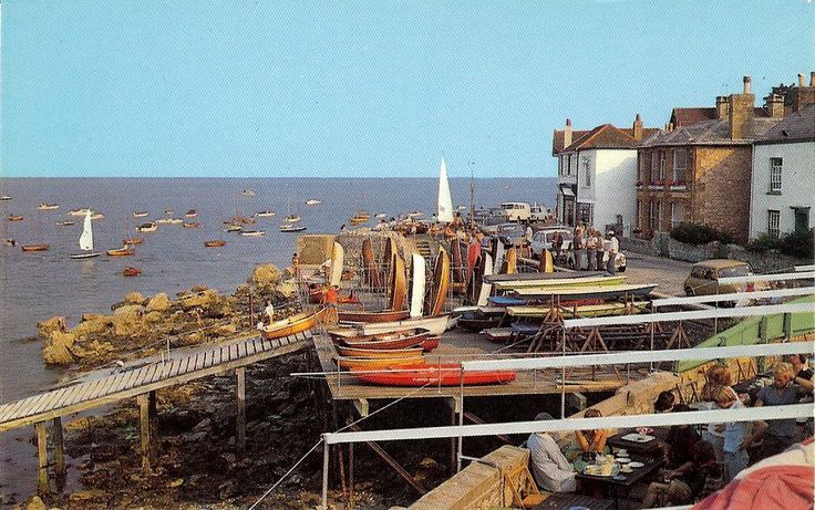 Postcards: Isle of Wight -- Seaview, Isle of Wight. (Precision Limited, St. Ives, Huntington. Colourmaster International.