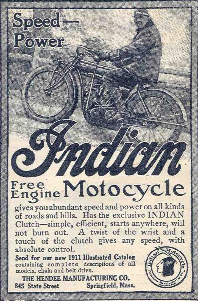 Antique Motorcycle Ads Gallery