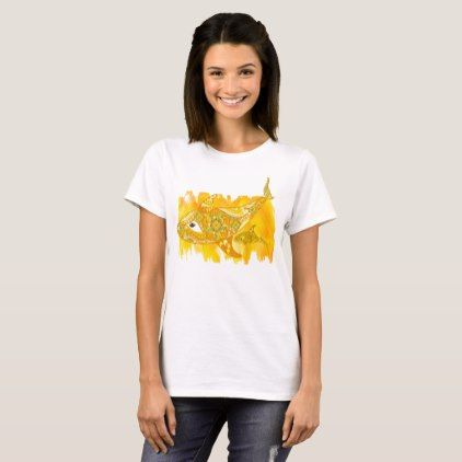 Yellow Mom with Baby Whales Tribal Style T-Shirt - baby gifts child new born gift idea diy cyo special unique design
