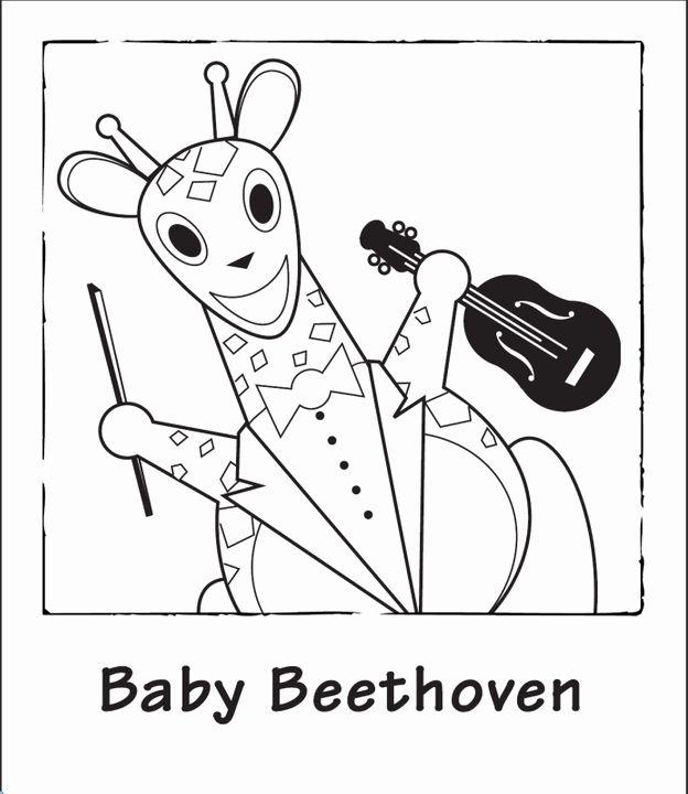 Baby Einstein Coloring Books Luxury Baby Einstein Characters Di 2020