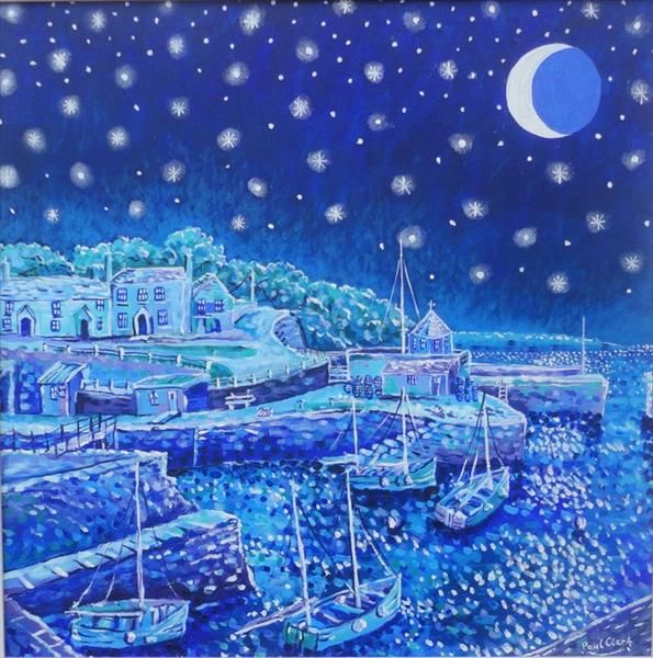 Starry Night Charlestown by Paul Clark