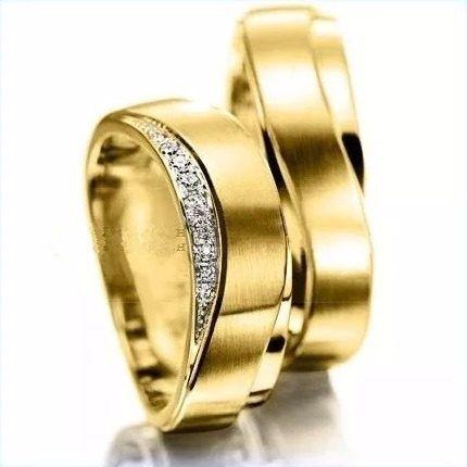 Argollas De Matrimonio Oro De 14k Boda Corazon - $ 6,480.00