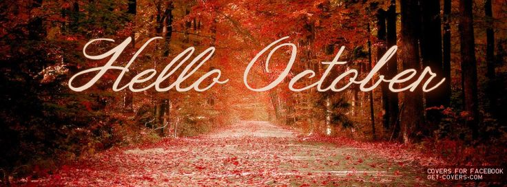 Get this Hello October Facebook Covers for your profile from Get-Covers.com.