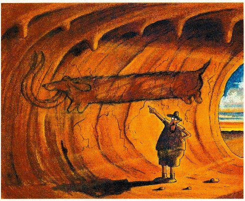 Quot Cave Art Quot From Quot Wiener Dog Art Quot By Gary Larson