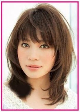 70 ideas for haircut with bangs asian layered hairstyles