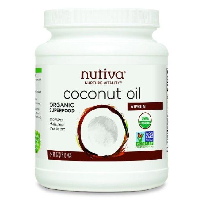 Rank & Style's Talking Top Tens - Jenny Blakeney's Ten Essentials: Nutiva Coconut Oil #rankandstyle
