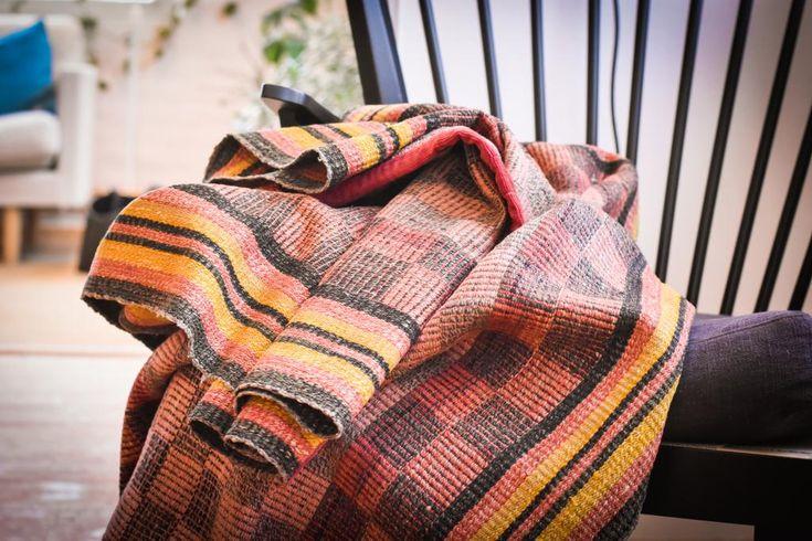 Swedish vintage rag rug 0670 - Rugs of Sweden