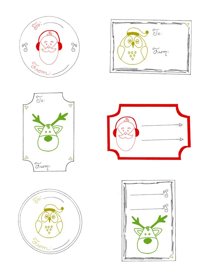 21 best templates images on pinterest free printable free christmas gift tags printable free printable christmas gift tag set pdf negle Choice Image